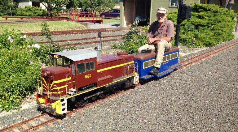 Diesel loco miniature train